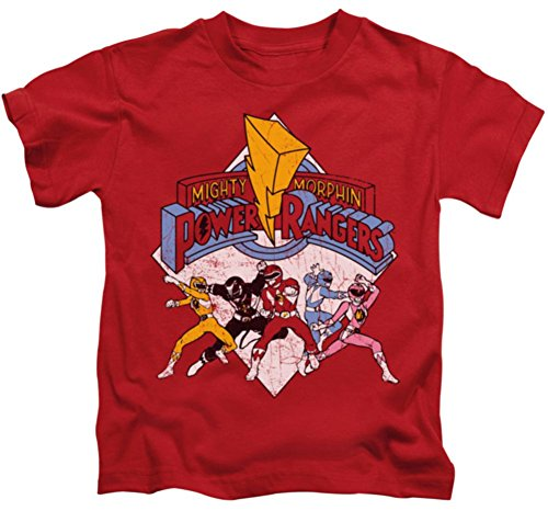 Mighty Morphin: Power Rangers - Retro Ranger Juvy T-Shirt