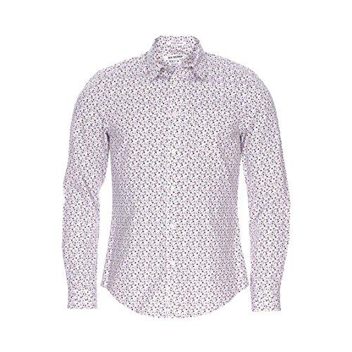 ben-sherman-chemise-ben-sherman-micro-floral-m-blanc