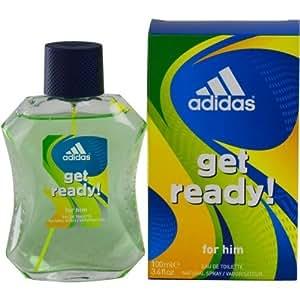 Adidas Get Ready By Adidas Eau De Toilette Spray 3.4 Oz For Men