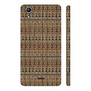 Micromax Canvas Selfie 2 Q340 Pyramids of Egypt designer mobile hard shell case by Enthopia