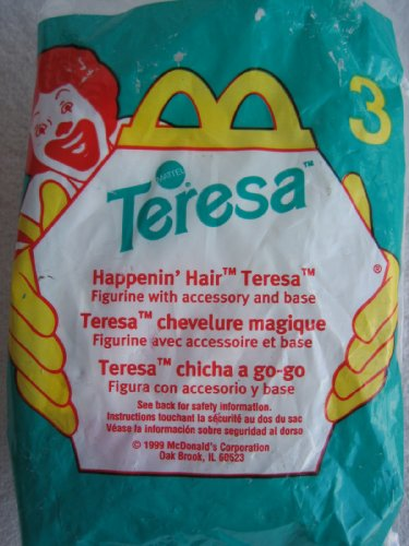 Mcdonalds Happy Meal 1999 Teresa 3 - Happenin' Hair Teresa - 1