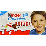 Kinder Chocolate (Pack of 10, Total 80)