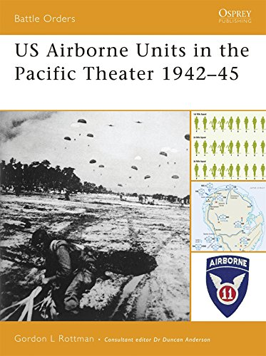 US Airborne Units in the Pacific Theater 1942-45 (Battle Orders), by Gordon L. Rottman