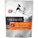 Nutri-Vet Shed Defense Natural Smoke Flavored Soft Chews with Omega 3 and 6 Fatty Acids, 5.3 Ounce Bag