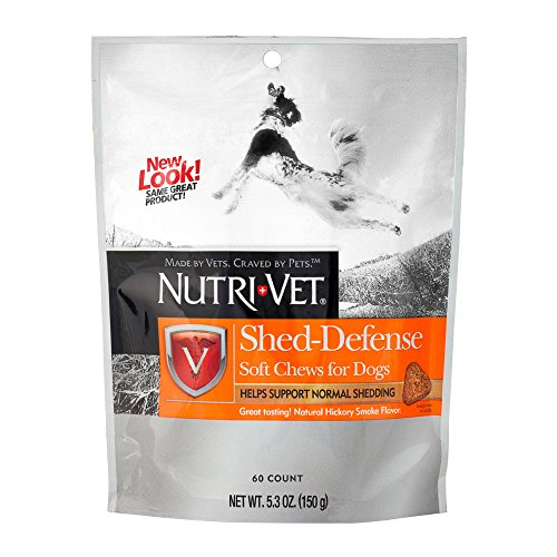 Nutri-Vet Shed-Defense Soft Chews for Dogs, 5.3 Ounce Bag (Fish Vet compare prices)
