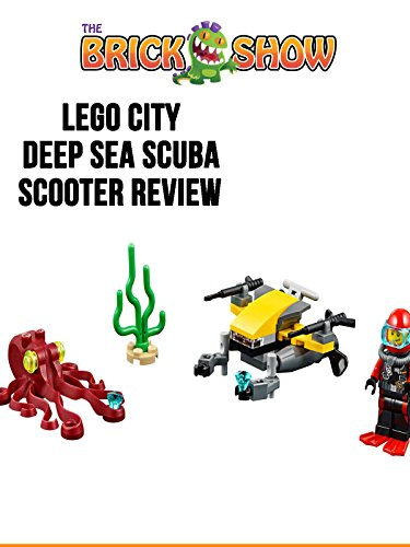 LEGO City Deep Sea Scuba Scooter Review (60090)