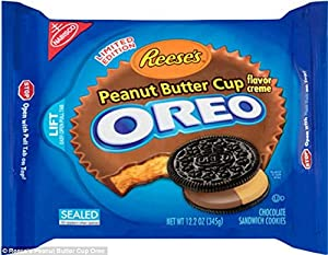 NABISCO OREO LIMITED EDITION REESE'S PEANUT BUTTER CUP(2 PACK)