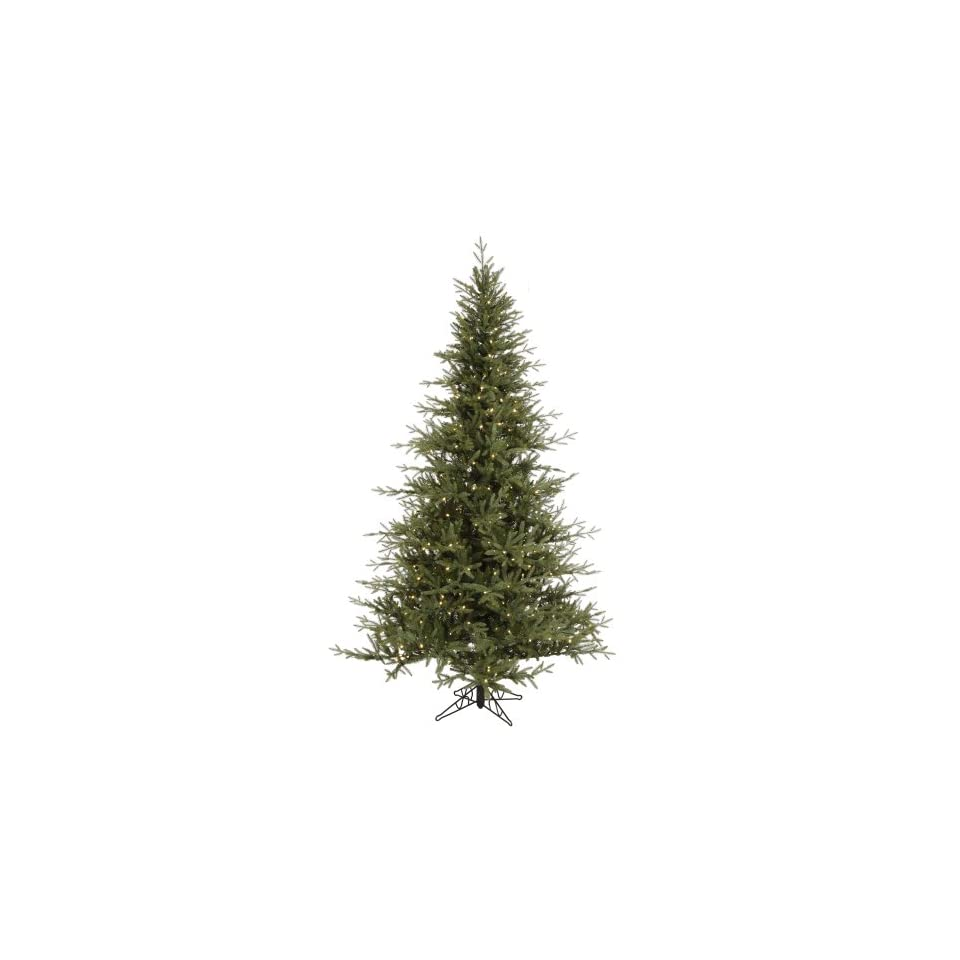 9.5 x 68 Castlerock Frasier Fir Christmas Tree w/ 2456T 855 LED Frosted WmWht Lights