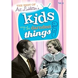 The Best of Kids Say the Darndest Things, Vol. 2 (1952-1969)
