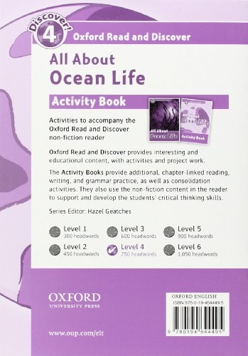 Oxford Read and Discover: Oxford Read & Discover. Level 4. All About Desert Life: Activity Book