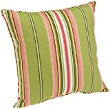 Brentwood Indoor/Outdoor Pillow 17 by 17-Inch Welt Cord, Lennar Spring