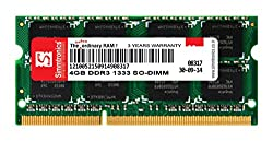 SIMMTRONICS 4GB DDR3 1333MHZ LAPTOP RAM