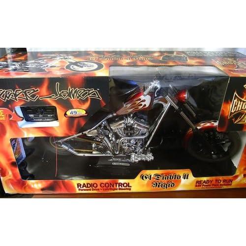 Jesse James El Diablo Rigid II Radio Control West Coast Choppers Motorcycle