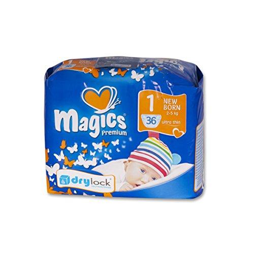 babies best Magics Premium 3.0Windeln, Größe 1 (Newborn), 2-5 kg, (1 x 108 Windeln)