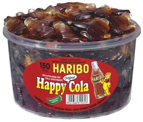 Haribo Happy Cola, 1er Pack (1 x 1.2 kg Dose)