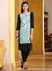 Fashion Galleria women's semi-stitched digital print kurti