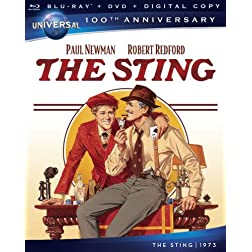 The Sting [Blu-ray + DVD + Digital Copy] (Universal's 100th Anniversary)