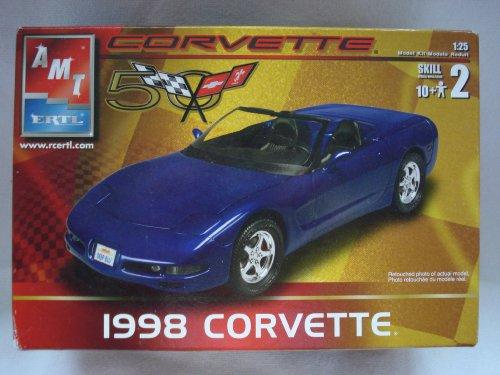 AMT ERTL 1998 Corvette Model Kit 1:25 Skill 2