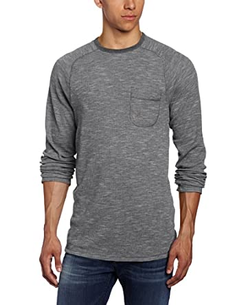 Volcom Men's Upgrade Thermal, Charcoal, X-Large