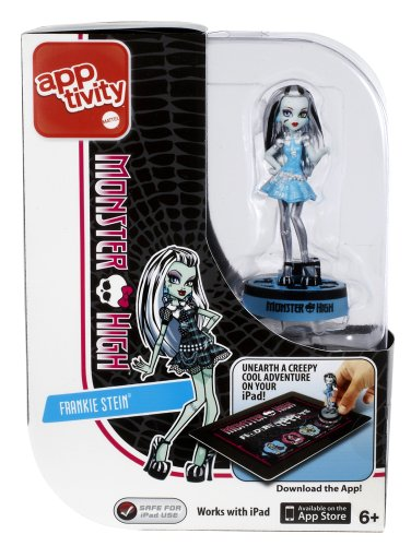 Monster High Apptivity Finders Creepers Frankie Stein Figure