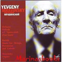 Yevgeny Mravinsky. Debussy. Bartok. Stravinsky.