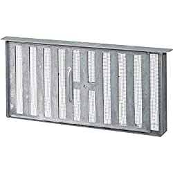 45 Sq In Free Area Aluminum Manual Foundation Vent-FOUNDATION VENT W/SLIDE