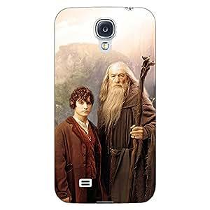 Jugaaduu LOTR Hobbit Gandalf Frodo Back Cover Case For Samsung Galaxy S4 Mini I9192