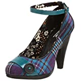 Not Rated Women's Plaid Me Up Pump,Purple,6.5 M ~ Not Rated