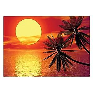 Fotomurale con colla romantic sunset 400x280cm for Carta parati economica