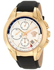 Versace Women's 25A80D002 S009 Character Automatic GMT Rose Gold Ion-Plating Chrono Watch