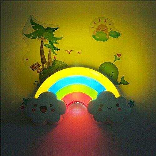sealive-baby-kids-rainbow-cloud-shapedsound-sense-control-sleeping-led-night-lightwall-sticker-decor