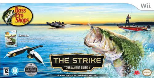 Bass pro shops the strike bundle nintendo wii for Bass pro shop fishing games