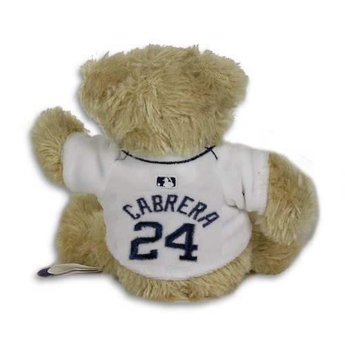 Detroit Tigers Cabrera #24 Teddy Bear