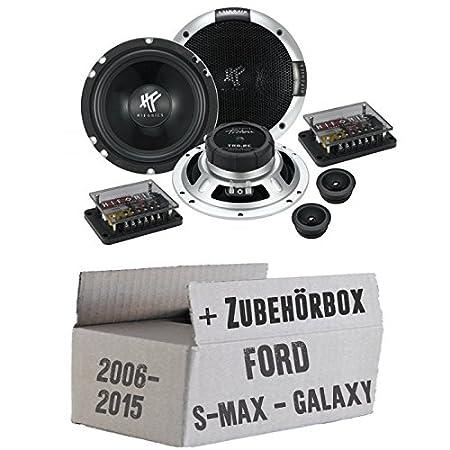 Ford S-Max / Galaxy Front oder Heck - Hifonics Triton TR 6.2C - 16cm Komposystem Lautsprecher - Einbauset