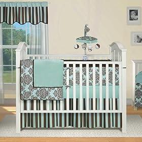 Banana Fish Bailey 4-Piece Baby Crib Bedding Set