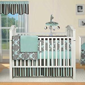 Amazon Bailey 4 Piece Crib Bedding Set Baby