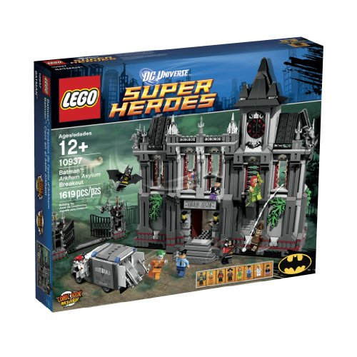 LEGO Super Heroes Arkham Asylum Breakout (10937) Amazon.com