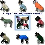 8 Original Knit Dog Sweater Patterns!