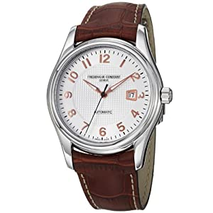 Frederique Constant Men's FC-303RV6B6 RunAbout Brown Leather Strap Watch by Frederique Constant