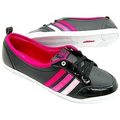 4e0674e79210 ... adidas neo ballerinas piona w leather - schwarz . ...