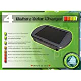 Proteam SL1097 - 4 AA or 4 AAA Solar Battery Charger