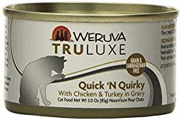 Weruva Chicken and Turkey Food for Pets, 3-Ounce, Gravy, Pack of 24