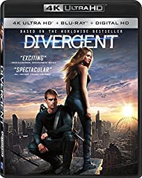Divergent [4K Ultra HD + Blu-ray + Digital HD]