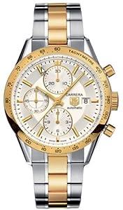 TAG Heuer Men's CV2050.BD0789 Carrera Automatic Chronograph Watch