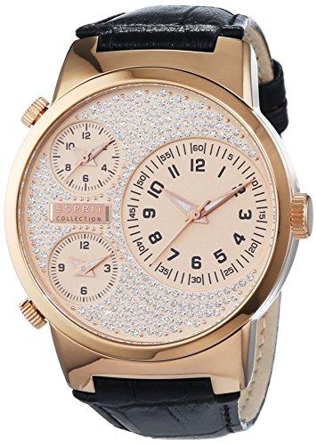 Esprit Mujer-reloj analógico de cuarzo cuero de poli Dora EL190482008