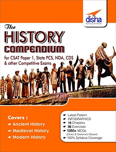 The History Compendium for General Studies CSAT - Paper 1, State PCS, CDS, NDA & other Competitive Exams