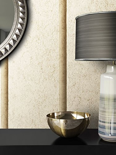 tapete vlies putzoptik beige sch ne edle tapete im streifen design moderne 3d optik f r. Black Bedroom Furniture Sets. Home Design Ideas