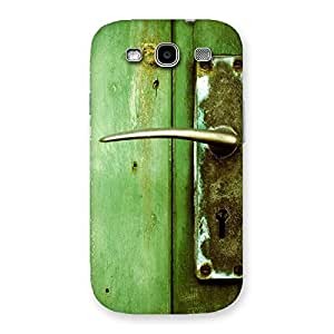 Impressive Classic Door Green Back Case Cover for Galaxy S3 Neo