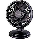 "Sunbeam 8"" Blizzard Power Fan, Black"