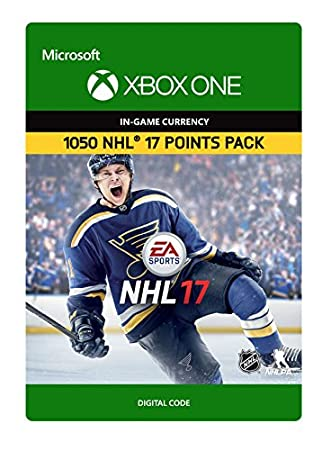 NHL 17: Ultimate Team NHL Points 1050 - Xbox One Digital Code